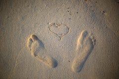 footprints Zdjęcie Royalty Free