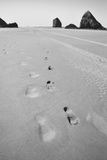 footprints photo libre de droits