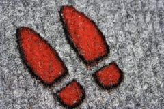 Footprints Stock Photos