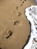 Footprints Stock Photography