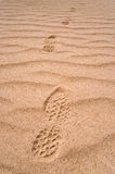Footprints Royalty Free Stock Photo
