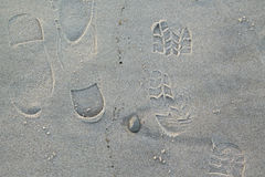 footprints стоковое фото rf