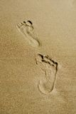 Footprints Stock Image