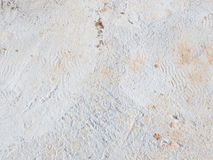 Footprints in concrete Stock Image