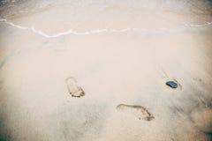 Footprints, Royalty Free Stock Photos