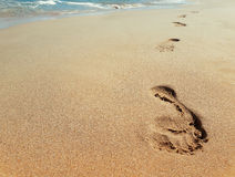 Footprints II stock photography