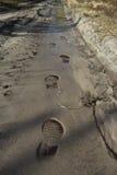 Footprints Royalty Free Stock Photography