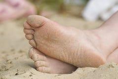 foots 免版税图库摄影