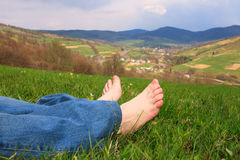 Foots Stock Photography