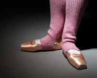 Foots of ballet dancer Stock Photography
