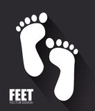 Foots design Royalty Free Stock Photography