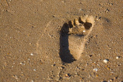 Footstep Royalty Free Stock Image