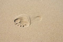 Footstep Stock Photography
