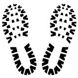 Footstep icon Royalty Free Stock Photography