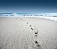Footsteps Royalty Free Stock Images