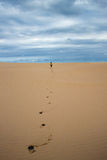 Footsteps Future Royalty Free Stock Photo
