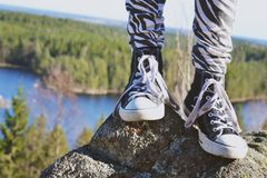 Footview Royalty Free Stock Images