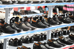 Footware shop Stock Images