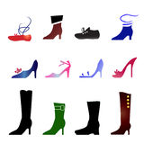 Footwear Stock Images