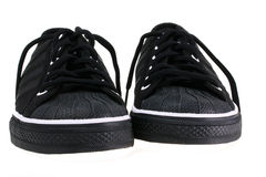 Footwear with black laces Stock Photography