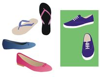 Footwear Royalty Free Stock Photography