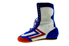 Footwear for employment by boxing Royalty Free Stock Photo