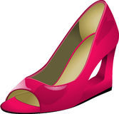 Footwear, High Heeled Footwear, Shoe, Pink Stock Image