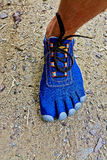 Five Fingers Shoes Royalty Free Stock Photography