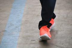Footwear, Red, Shoe, Leg stock image