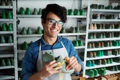 Footwear repairman royalty free stock image