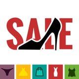 Footwear Sale Icon Stock Image