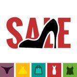Footwear Sale Icon Royalty Free Stock Photos