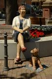 Footwear, Sitting, Human Behavior, Shoe stock photo