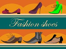Footwear store Stock Photo