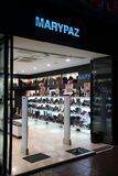 Footwear store in Spain Stock Photography