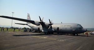 Força aérea de Hercules C 130 E.U. Imagens de Stock Royalty Free
