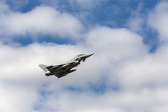 Força aérea espanhola Eurofighter Fotos de Stock