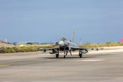 Força aérea espanhola Eurofighter Foto de Stock