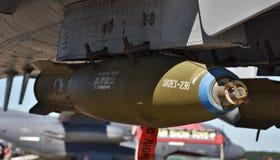 Força aérea Mark-82 bomba de 500 libras imagens de stock