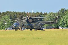 Força aérea real merlin r fotografia de stock royalty free