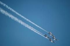 Força aérea Thunderbirds Fotos de Stock Royalty Free