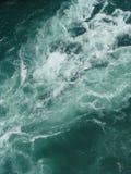 Força da água do rio áspera Imagem de Stock Royalty Free