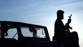 Força de segurança fronteiriça no deserto filme