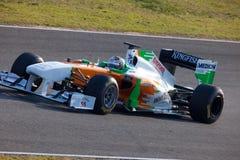 Força India F1 da equipe, Adrian Sutil, 2011 Foto de Stock