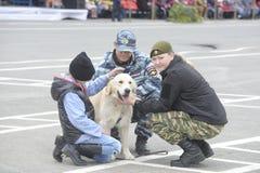 A força policial especial OMON foto de stock royalty free