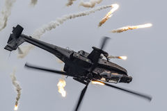Forças aéreas dos Países Baixos AH-64 Apache imagens de stock royalty free