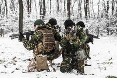 Forças armadas Foto de Stock Royalty Free