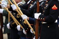 Forças armadas de Estados Unidos Foto de Stock