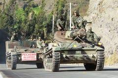 Forças armadas do Ecuadorian imagens de stock