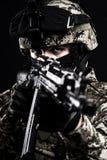 Forças armadas do russo Fotografia de Stock